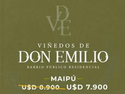 LOTES EN PREVENTA EN BARRIO VIÑEDOS DE DON EMILIO